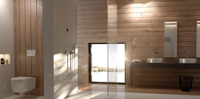 Holz im Badezimmer - aber natürlich! - °celseo Bad