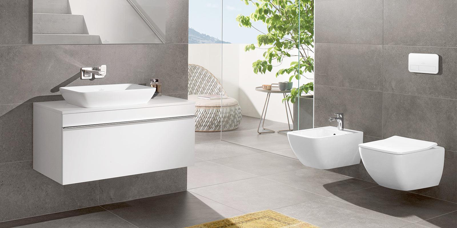 Geradliniges Baddesign mit perfekter Funktionalität